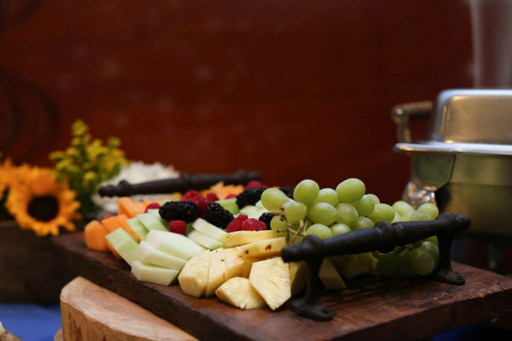 Bleu Events fruit platter
