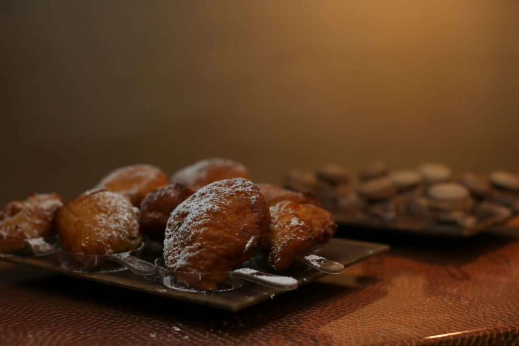 Bleu events beignets